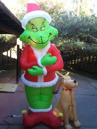 Air Blown Christmas Decorations Stunning Design Grinch Inflatable Christmas Decorations Shop