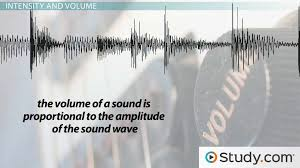 pitch and volume in sound waves video u0026 lesson transcript