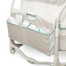 Bassinet That Hooks To Bed Dream U0026 Grow Bedside Bassinet Deluxe Blakely