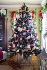 pottery christmas trees christmas lights decoration