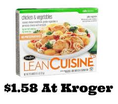 lean cuisine coupons lean cuisine entree coupons at kroger just 1 58