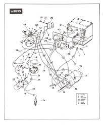 yamaha gas golf cart wiring diagram gooddy org