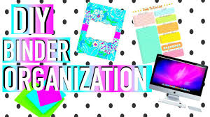 diy binder organization u0026 organization hacks back to