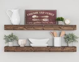 Floating Shelves For Bathroom by Rustic Shelf Etsy