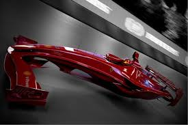 future ferrari ferrari f1 hovercar concept foreshadows the future of motor racing