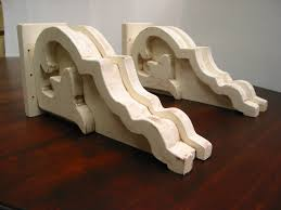 Corbels For Shelves Decor Astonishing Wooden Shelf Brackets For Wall Decoration Ideas