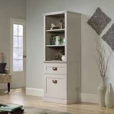 Sauder Library Bookcase by New Grange Tall Cabinet 419281 Sauder