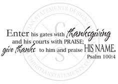 psalm 100 4 search church bulletin board