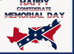 Memorial Day American Flag Happy Confederate Memorial Day American Flag Text And Map Picture