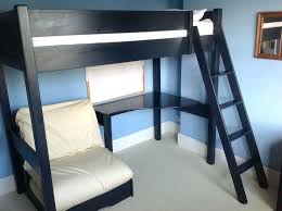 High Sleeper With Futon And Desk Aspace Bunk Beds High Sleeper Single Bed Desk And Sleepover Bed
