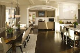 Kitchen Open To Dining Room Extremely Creative Kitchen Open To Dining Room Outdoor Fiture