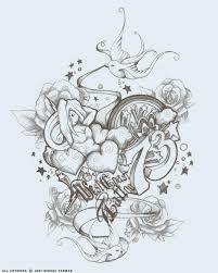 west coast tattoo logo by moparmar on deviantart