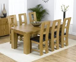 solid oak table with 6 chairs dining room astonishing oak dining table and chai