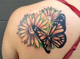 zesty butterfly tattoos for girls and women