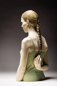 almost human hyperrealistic wood sculptures sort of nsfw