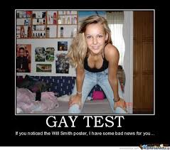 Funny Gay Guy Memes - gay test by iegen meme center
