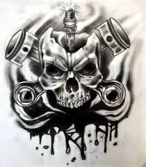 collection of 25 best tribal skull design for your
