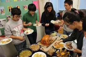 fasa thanksgiving potluck freeman asian scholars association