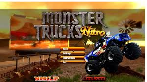 monster truck racing games free download monster truck nitro v1 2 0 free download for windows pc