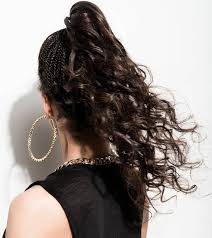 barrel curl ponytaol 5 curly ponytail ideas that you should try