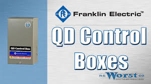 franklin electric qd and crc control boxes youtube
