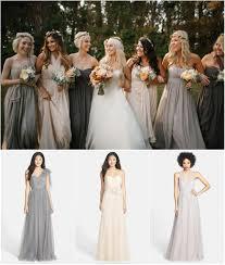 fall bridesmaid dresses mismatched bridesmaid dress ideas for fall weddings link