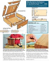 american woodworking plans humidor