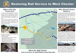 Septa Rail Map West Chester Railroad Restoration Committee West Chester Borough