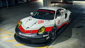 Porsche 911 Diesel - new 911 rsr for le mans