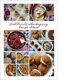 last minute thanksgiving recipe ideas 2017