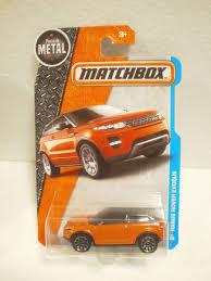 matchbox range rover matchbox camioneta range rover evoque naranja 27 125 45 00 en