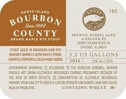 Bourbon County Backyard Rye Goose Island Bourbon County Brand Archives Beer Street Journal