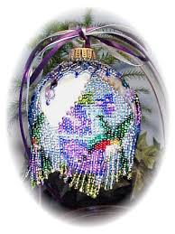hummingbird ornament cover beading patterns and kits