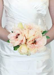 wedding bouquet silk peony bouquet in silk wedding flowers afloral