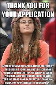 Application Meme - college liberal memes quickmeme