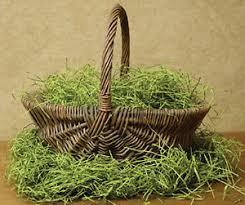 green paper easter grass 4 oz shredded green paper grass easter ebay