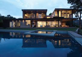 Exterior Home Design Los Angeles Contemporary Home Mandeville Canyon Residence Keribrownhomes