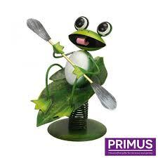 surfing frog garden ornament rainford news gifts