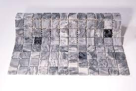 bathroom mosaic tile wall marble matte trip cloudy drops