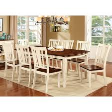 Country Style Dining Room Furniture Of America Betsy Jane Country Style Dining Table Free
