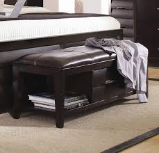 Fabric Bench For Bedroom Download Bedroom Storage Bench Gen4congress Com