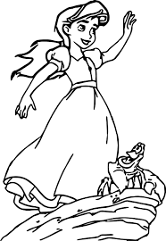 disney the little mermaid 2 return to the sea coloring page 18
