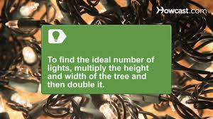 how to trim a christmas tree youtube