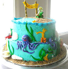 underwater themed baby shower cake cakecentral com