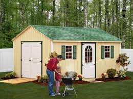 Storage Shed For Backyard by Vinyl U0026 Wooden Storage Sheds For Sale Amish Made Penn Dutch