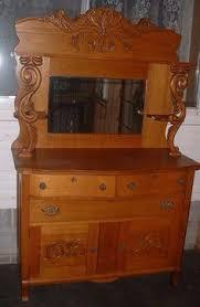 antique tiger oak empire sideboard buffet server my best yard