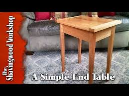 this is a great woodworking project a simple end table everyone