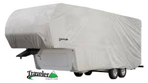 traveler series fifth wheel toy hauler trailer cover products