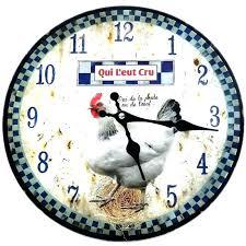 pendule cuisine pendule murale de cuisine great pendule murale cuisine horloge