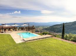 sweet tuscan style house with pool panoramic patio away from all